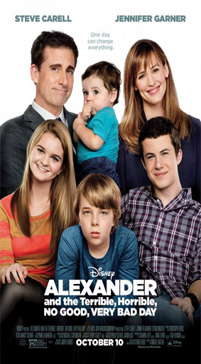 Alexander and the Terrible, Horrible, No Good, Very Bad Day [2014 USA Movie]