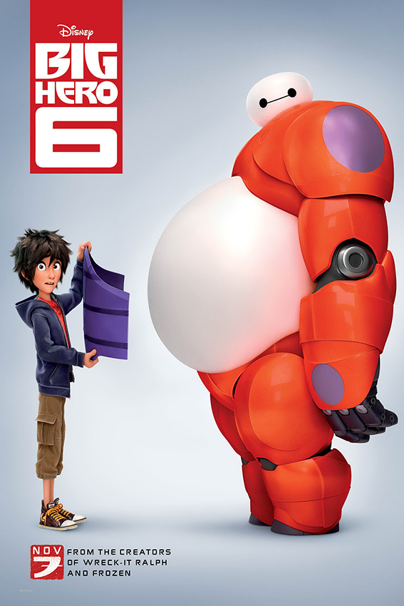 Big Hero 6 [2014 USA Animation Movie]