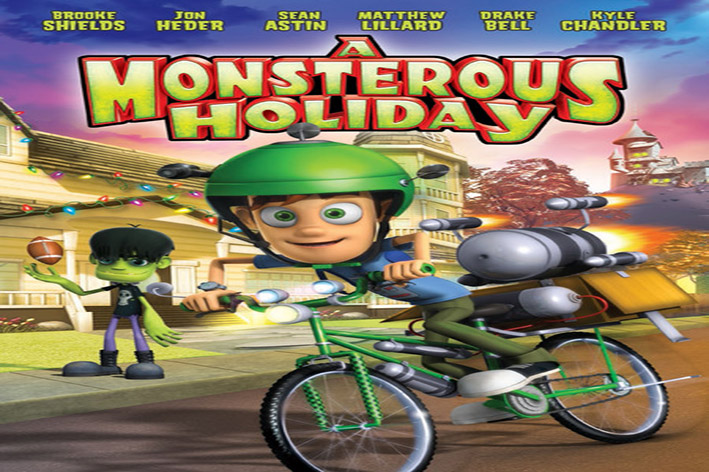 A Monsterous Holiday [2013 USA Movie Cartoon]