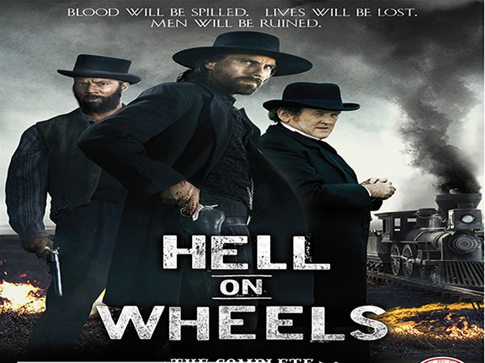 Hell on Wheels SEASON 4 [2014 UK & Canada Series]
