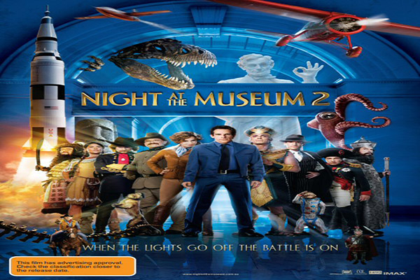 Night at the Museum 2 Battle of the Smithsonian [2008 USA & Canada Movie]