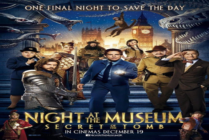 Night of the Museum 3 Secret of the Tomb [2014 USA & UK Movie]