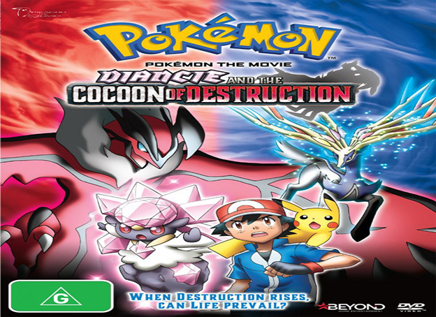 Pokemon The Movie 17: Diancie and the Cocoon of Destruction [2014 Japan Anime Movie]