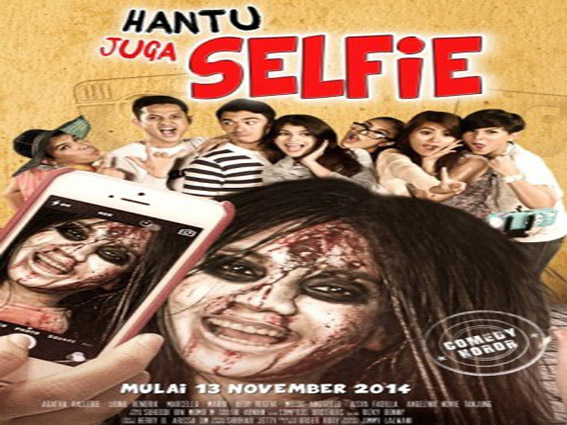 Hantu Juga Selfie [2014 Indonesia Movie]
