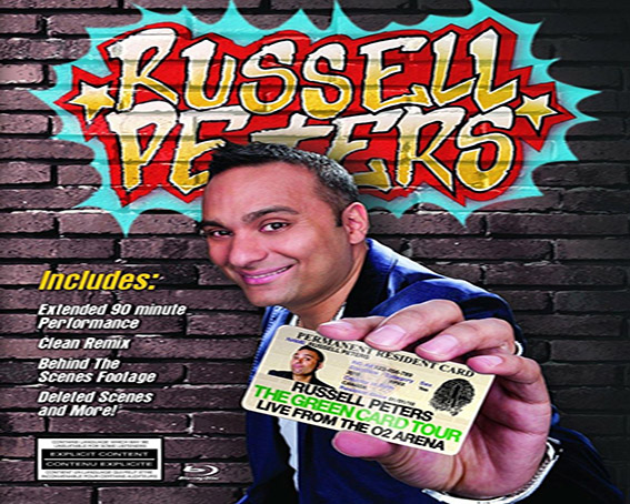 Russell Peters – The Green Card Tour Live From the O2 Arena [2011 USA Movie] – 3rd