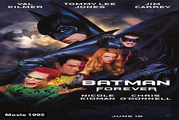 Batman Forever (3rd) [1995 USA & UK Movie]