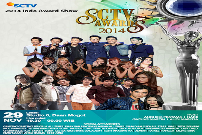 SCTV Awards 2014 [2014 Indonesia Show]