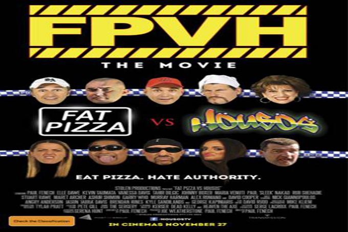 Fat Pizza vs Housos [2015 Australia Movie]
