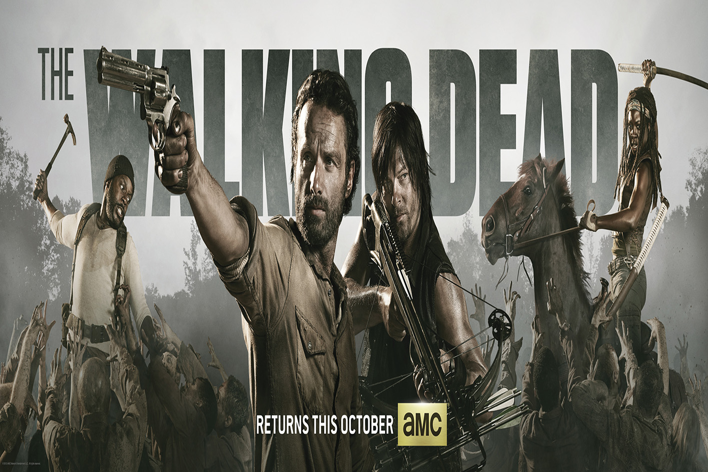 The Walking Dead SEASON 5 Complete  [2015 USA Series]