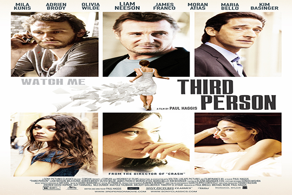 Third Person [2013 USA, Belgium, France, UK & Germany Movie]