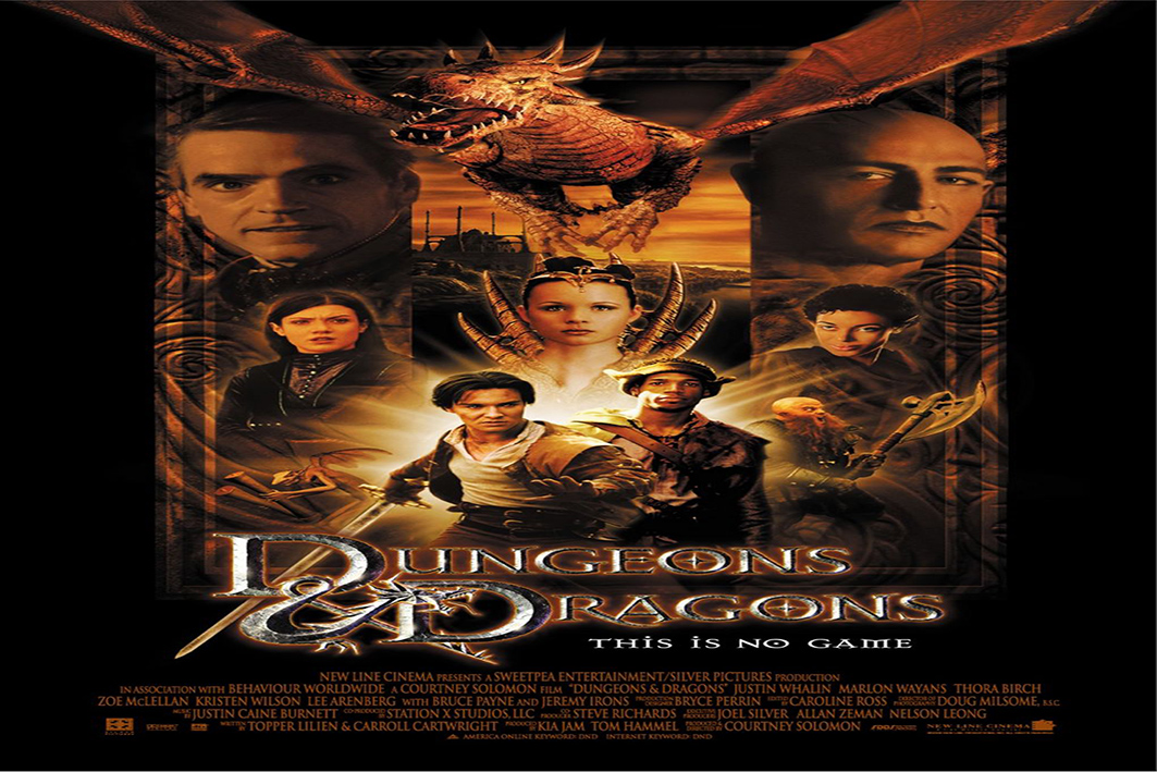 Dungeons & Dragons [2000 USA & Czech Movie]