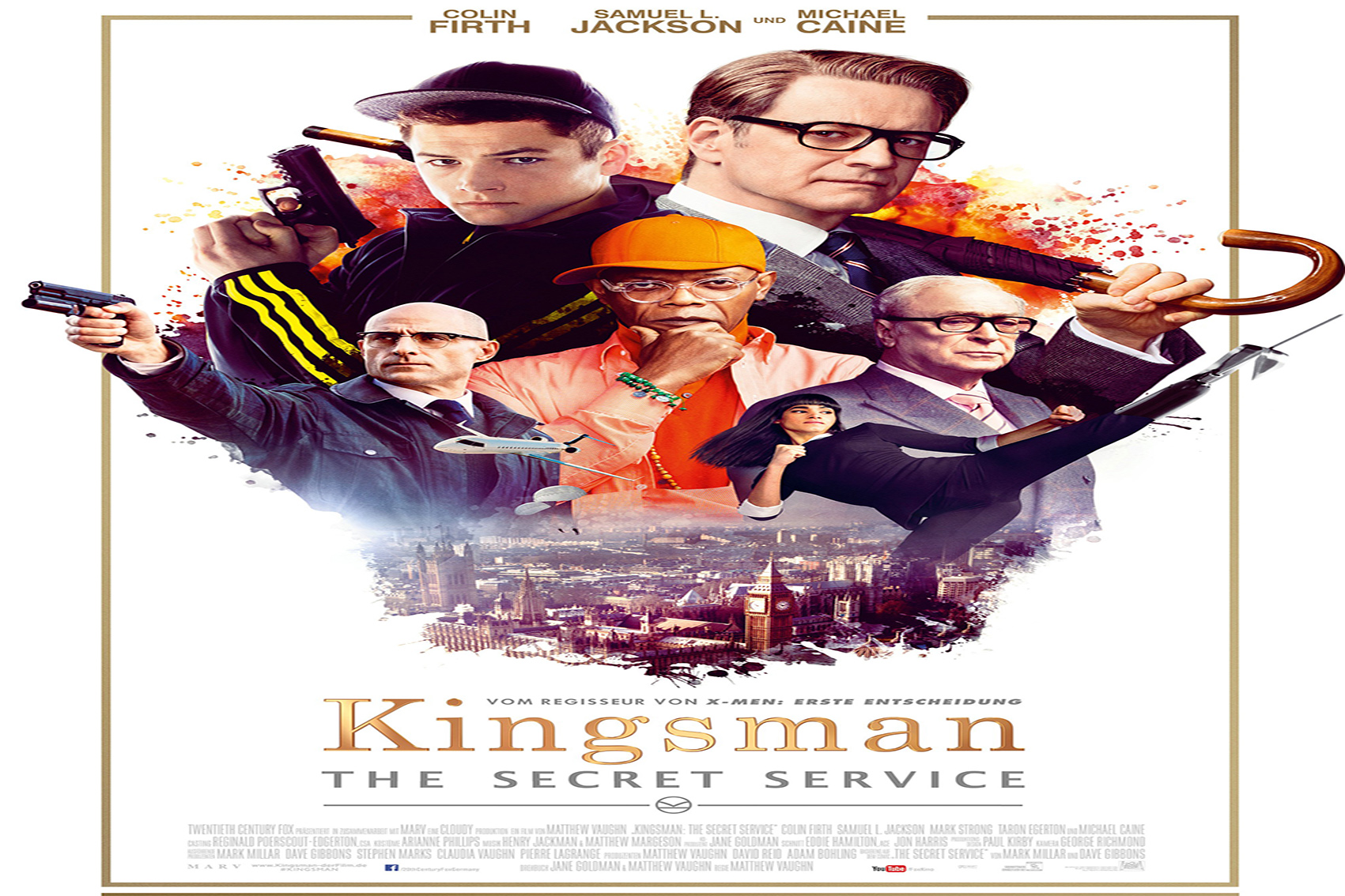 Kingsman The Secret Service [2015 USA Movie]