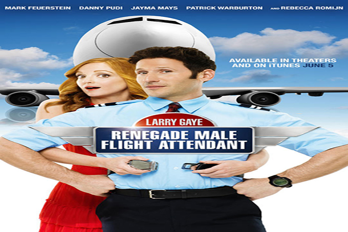 Larry Gaye Reneagade Male Flight Attendant [2015 USA Movie]