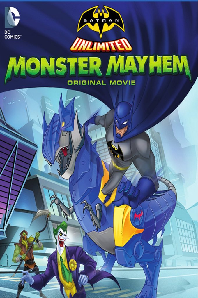 Batman Unlimited Monster Mayhem [2015 USA Movie]