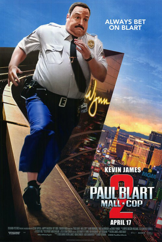 Paul Blart: Mall Cop 2 [2015 USA Movie]
