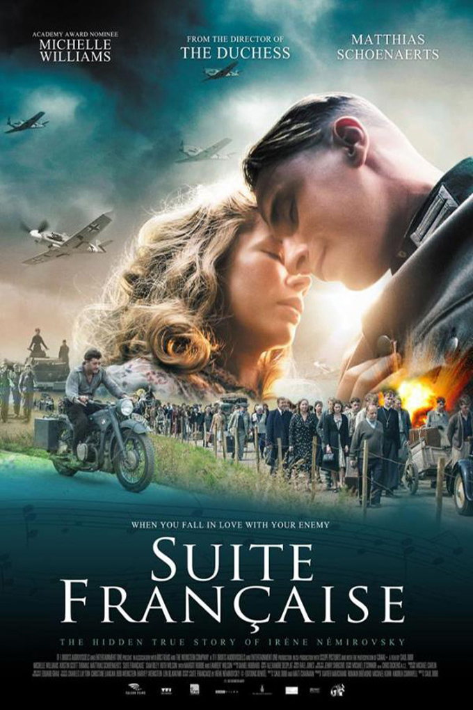Suite Francaise [2015 UK, France, Canada & Belgium Movie]