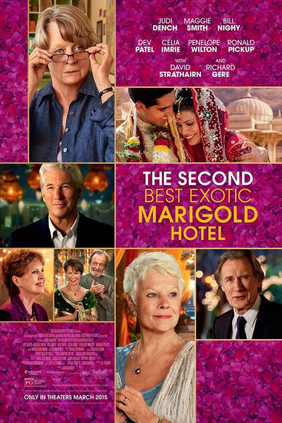 The Second Best Exotic Marigold Hotel [2015 USA & UK Movie]