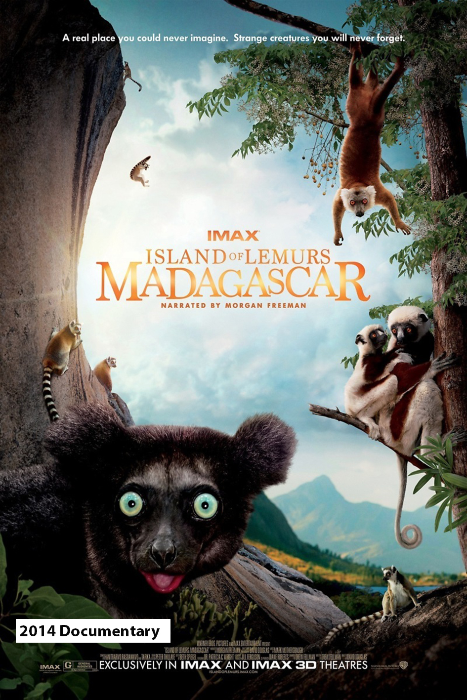 Island of Lemurs: Madagascar [2014 Canada, USA & Madagascar Movie]