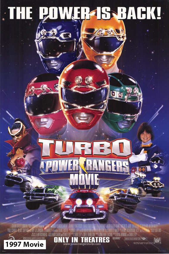 Turbo Power Rangers The Movie [1997 USA Movie]