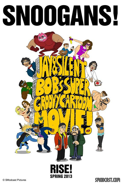 Jay and Silent Bob Super Groovy Cartoon Movie [2014 USA Movie]