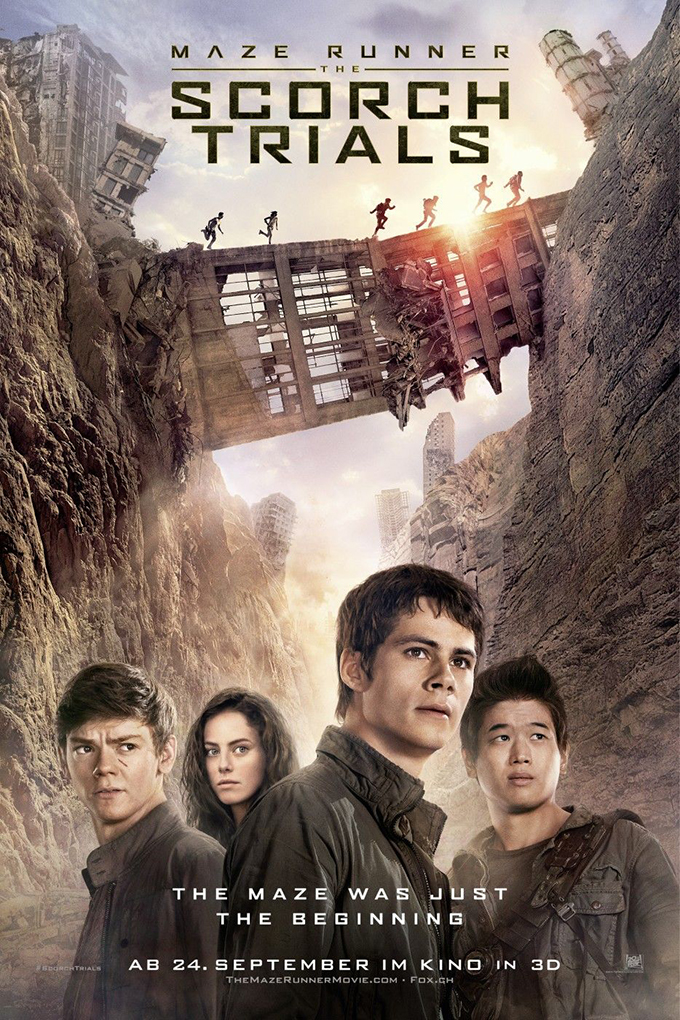 Maze Runner The Scorch Trials [2015 USA Movie]