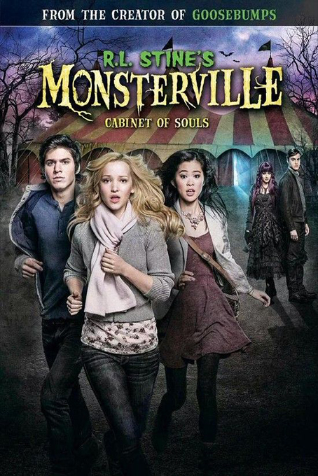 RL Stines Monsterville: The Cabinet of Souls [2015 USA Movie]