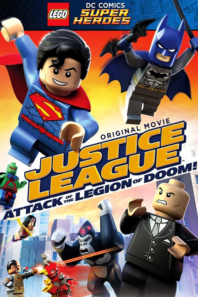 Lego DC Justice League Attack of the Legion of Doom [2015 USA Movie]