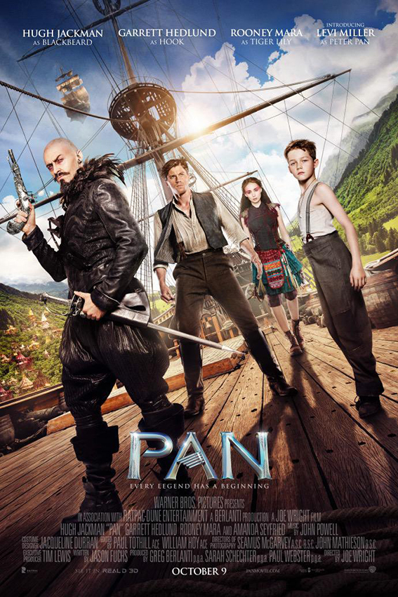 Pan 2015 [USA, UK & Australia Movie]