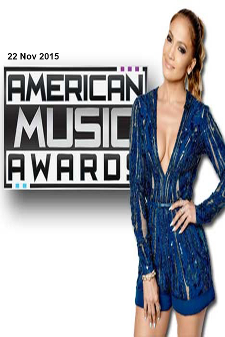 The 43rd Annual American Music Awards 2015 [2015 USA Show]