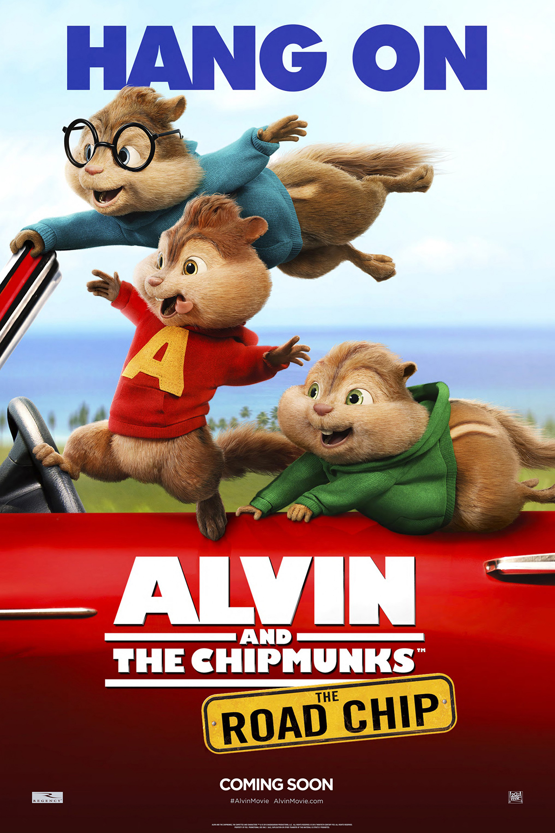 Alvin and the Chipmunks the Road Chip [2015 USA Movie]