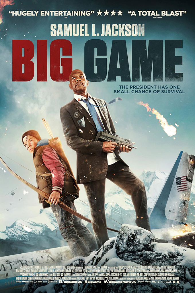 Big Game [2014 UK, Finland & Germany Movie]