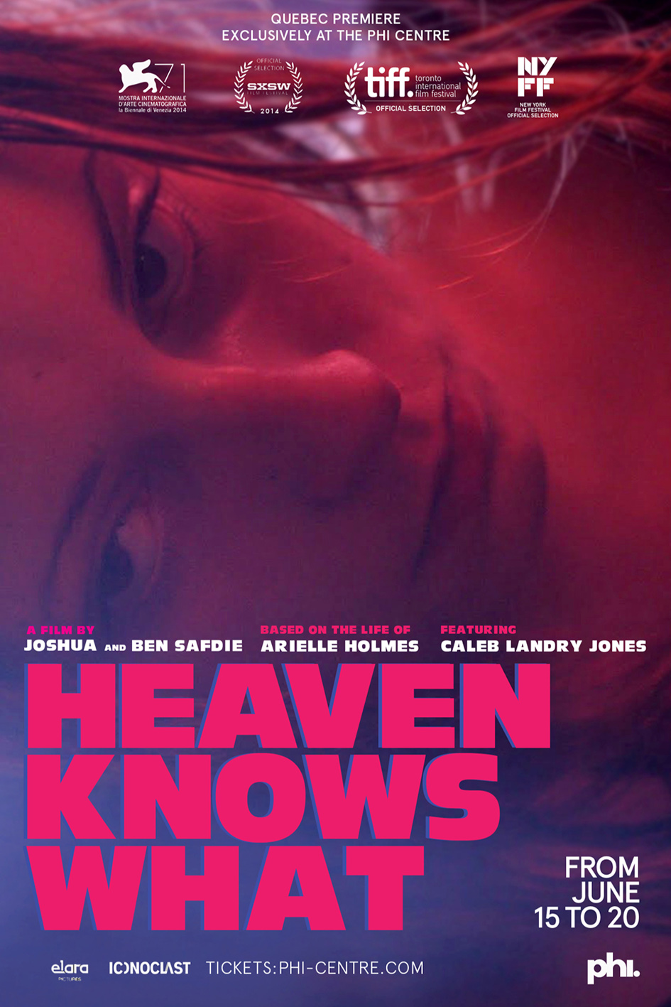 Heaven Knows What [2014 USA Movie]