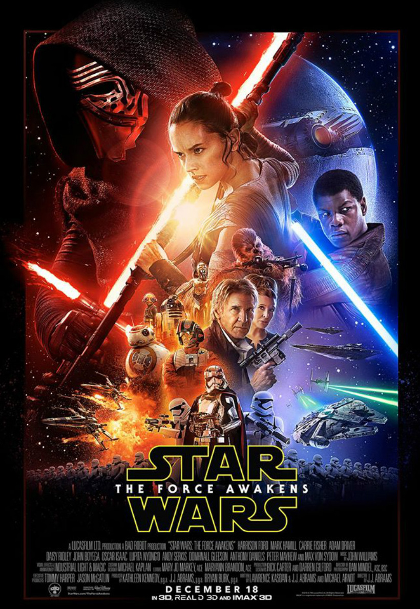 Star Wars Episode 7 The Force Awakens [2015 USA Movie]