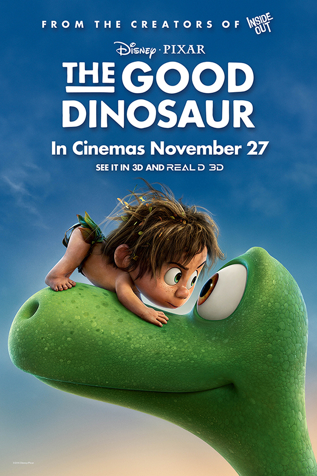 The Good Dinosaur [2015 USA Movie]