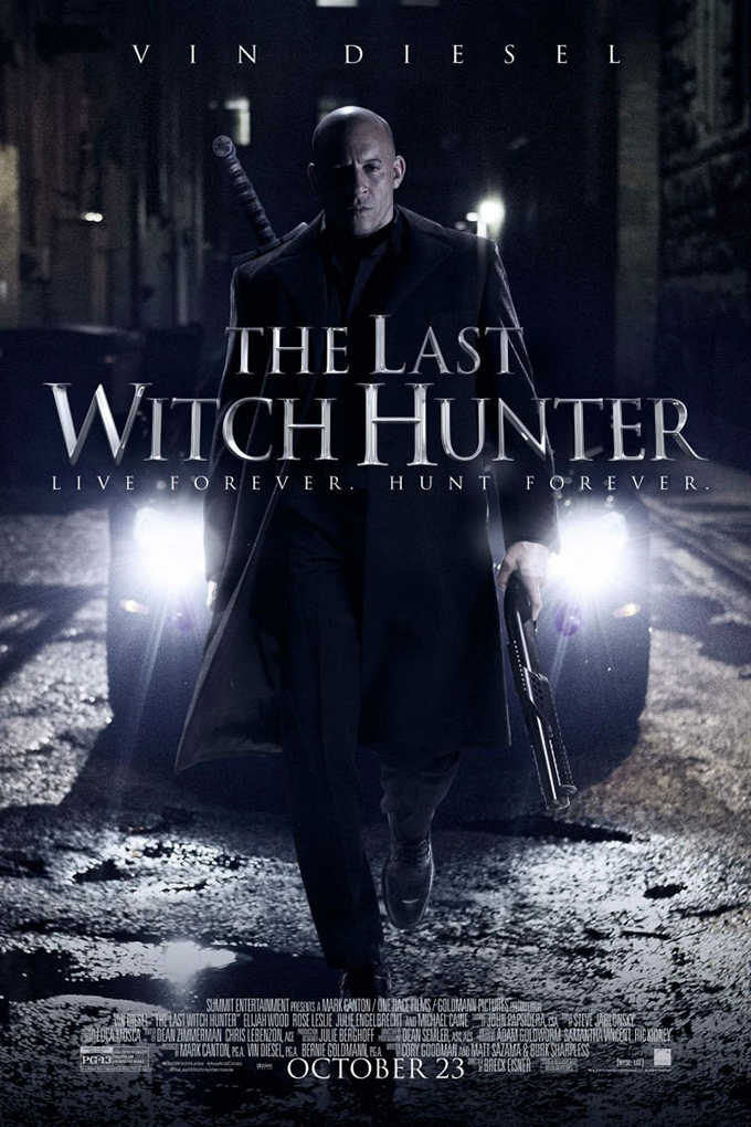 The Last Witch Hunter [2015 USA, China & Canada Movie]