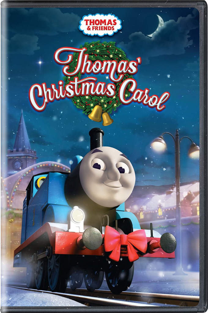 Thomas and Friends Thomas' Christmas Carol [2015 USA Movie]