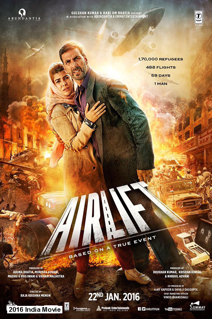 Airlift [2016 India Movie]