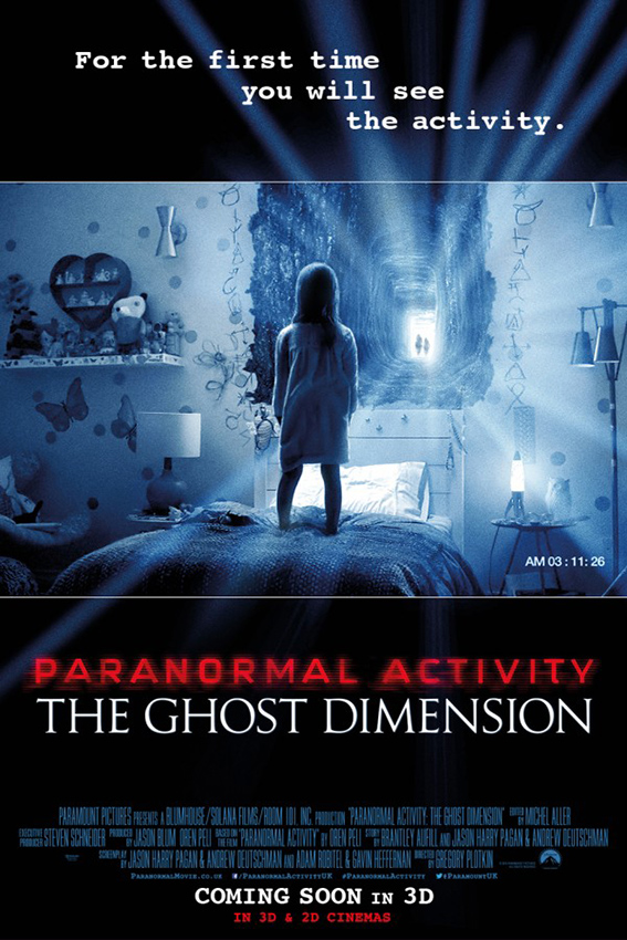 Paranormal Activity 5: The Ghost Dimension [2015 USA Movie]