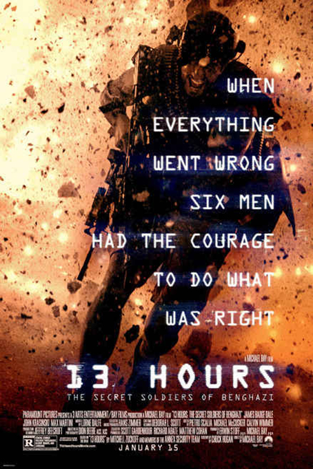 13 Hours: The Secret Soldiers of Benghazi [2016 USA Movie]