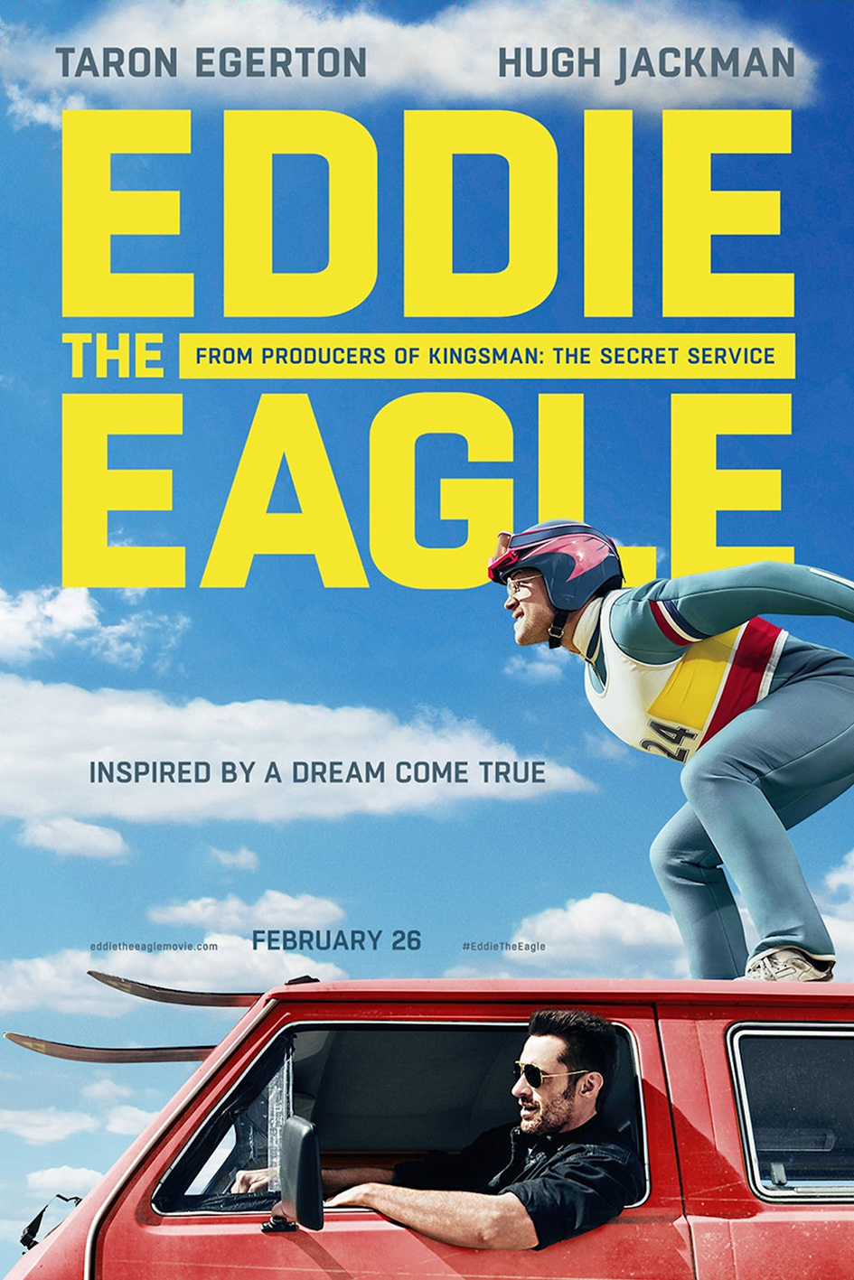 Eddie The Eagle [2016 USA, UK & Germany Movie]