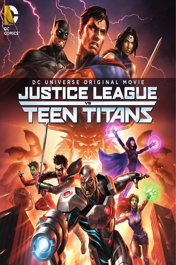 Justice League vs Teen Titans [2016 USA Movie]