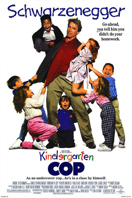 Kindergarten Cop [1990 USA Movie]