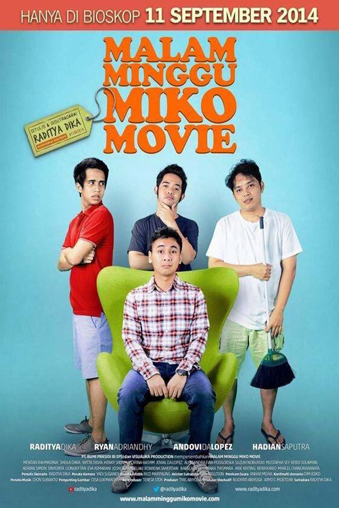 Malam Minggu Miko The Movie [2014 Indonesia Movie]