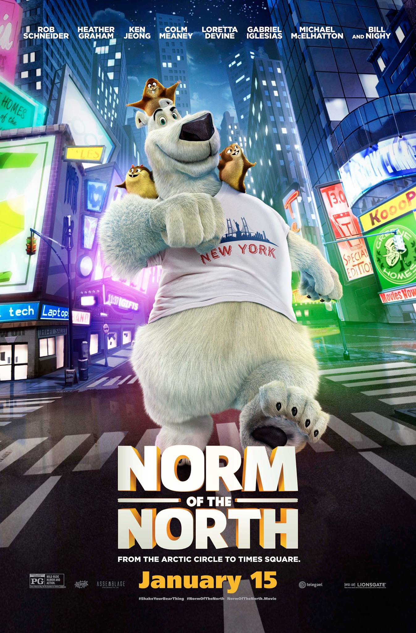 Norm of the North [2016 USA & India Movie]