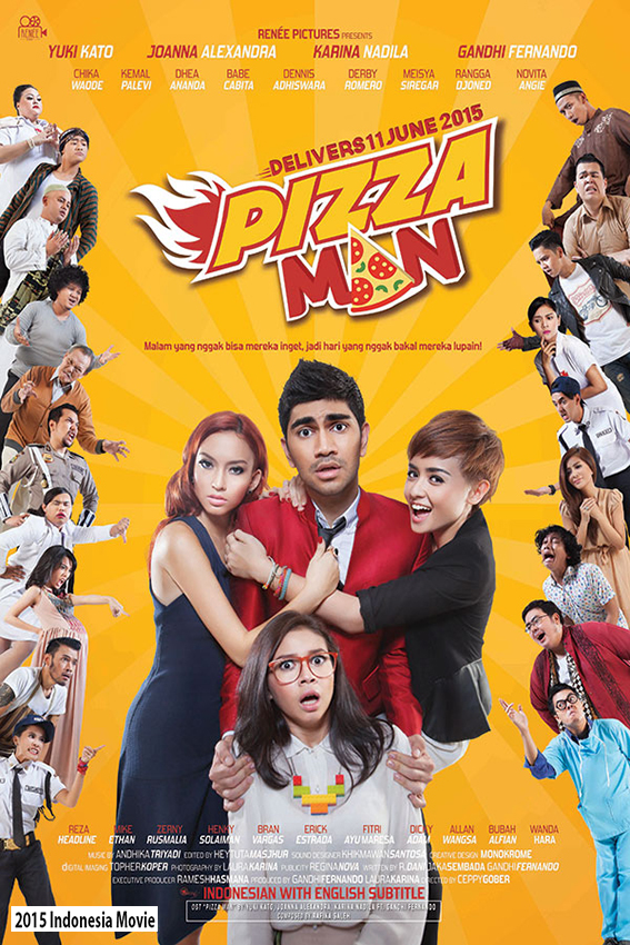 Pizza Man [2015 Indonesia Movie]