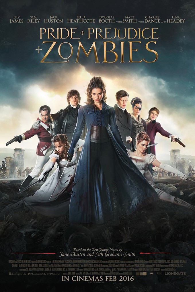 Pride and Prejudice and Zombies [2016 USA & UK Movie]