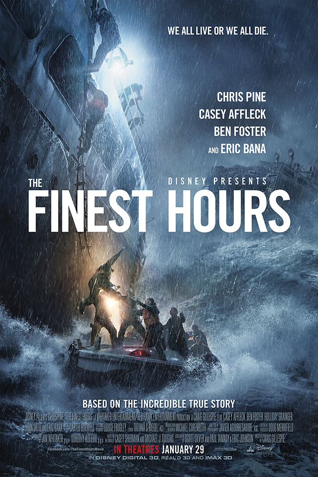 The Finest Hours [2016 USA Movie]