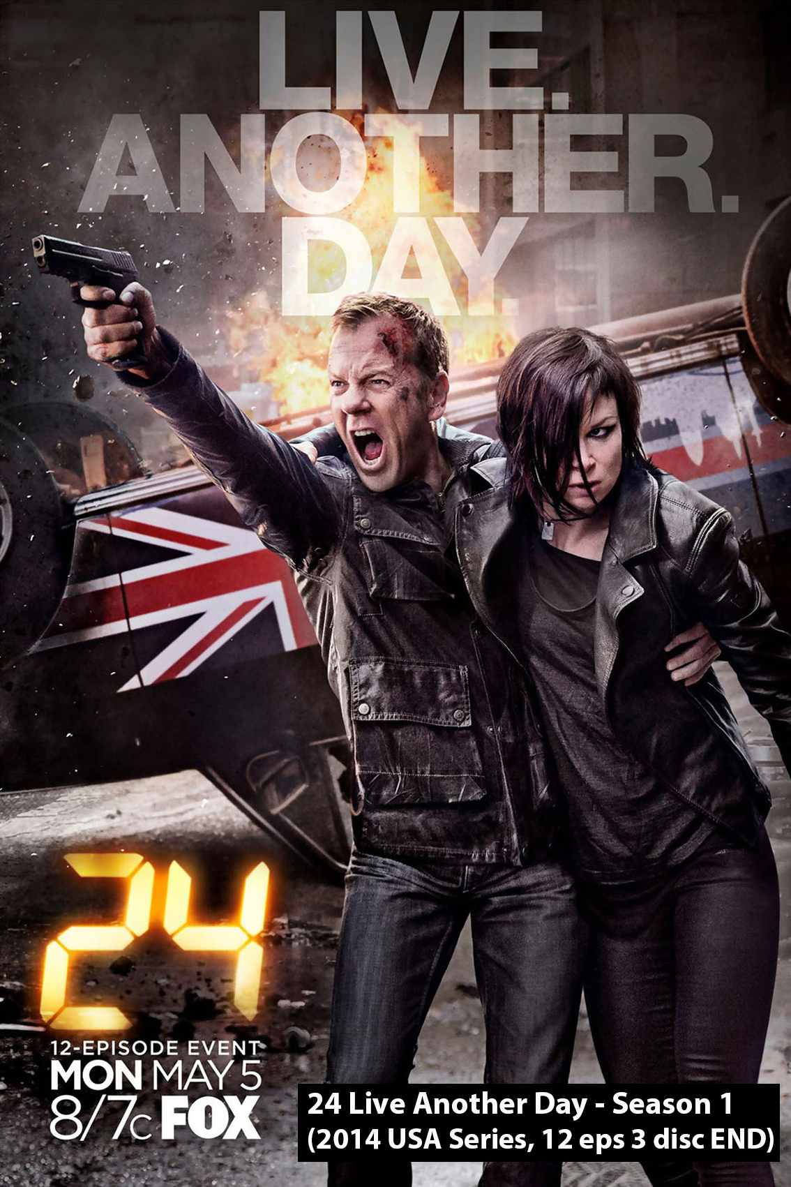 24: Live Another Day or 24 Season 9 [2014 USA Series]