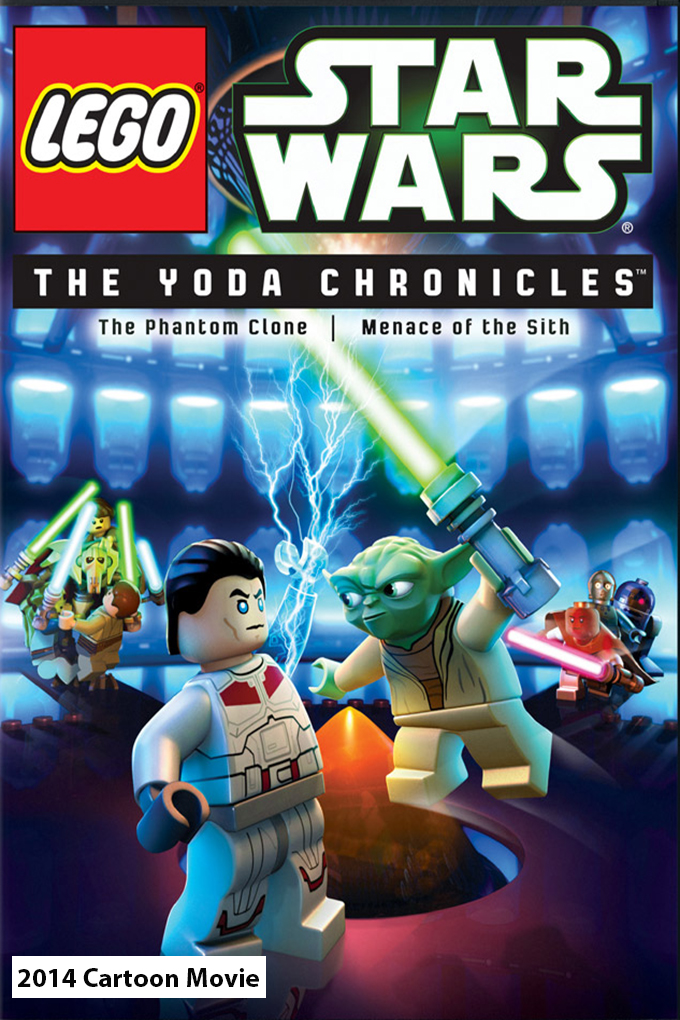 Lego Star Wars: The Yoda Chrinicles [2014 USA Cartoon Movie] Animation, Family