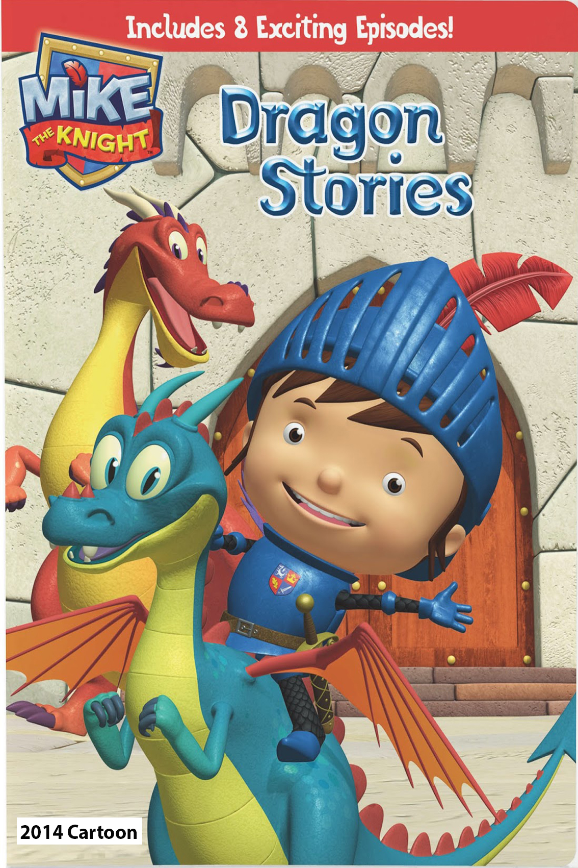 Mike The Knight: Dragon Stories [2014 USA Cartoon Movie] Animation, Family